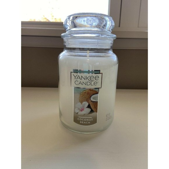 Yankee Candle COCONUT BEACH Scented Jar Candle NEW